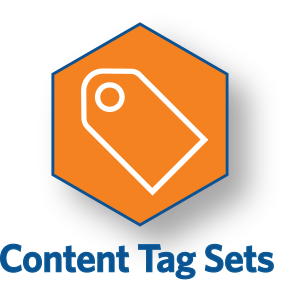 Content Tag Sets Icon