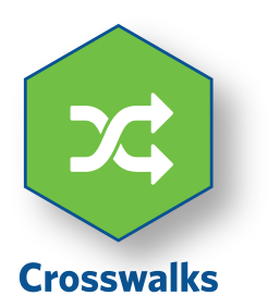 Crosswalks Icon